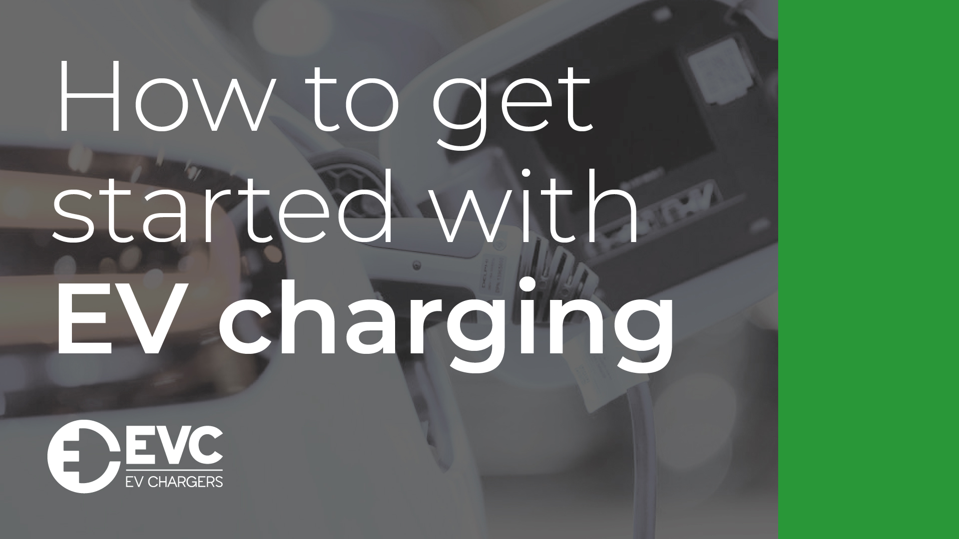 How to get started with EV charging